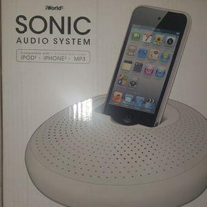 NEW Sonic Audio System IWorld